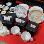 猫の急須とカップとお皿がカワイイ
